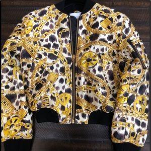 NWOT Moschino [TV] x H&M 2018 Bomber Jacket